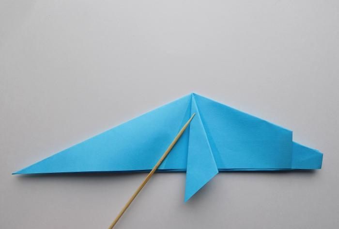 Golfinho de papel