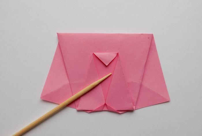 Wie man einen Origami-Elefanten macht