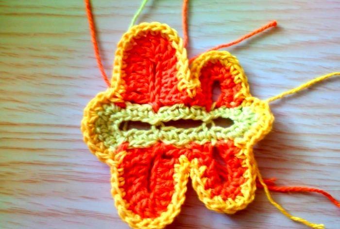 ornamente de tricotat pentru pălării de vară
