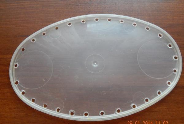 capacul recipientului din plastic