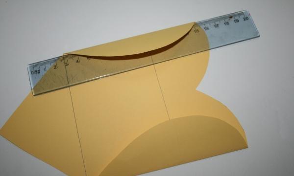 dobrar em um envelope
