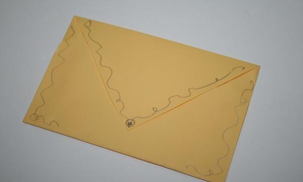 Envelope para cartões postais