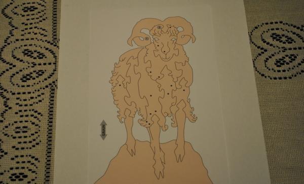 Desen de berbec