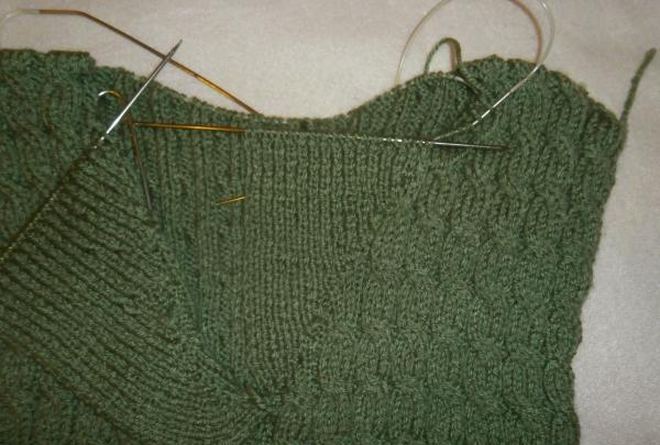Potem robimy na drutach