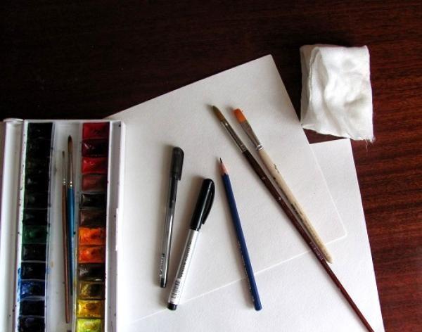 vopsea hârtie