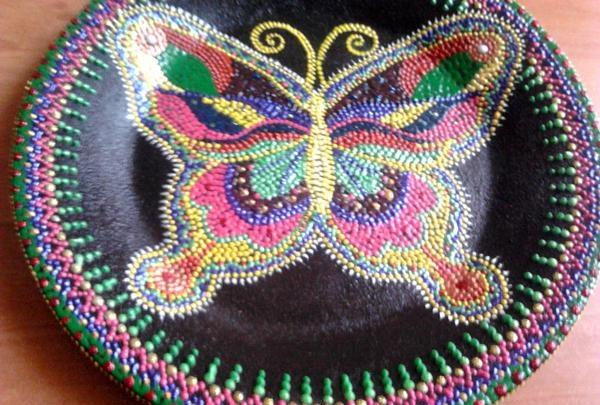 Fluture gata