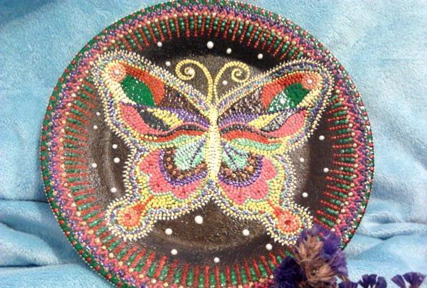 punctat fluture de vară