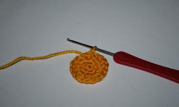 Începeți să tricotați un suport
