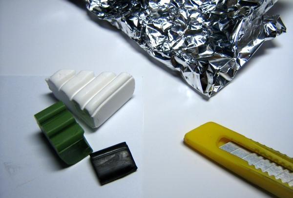 plastikinis raktų pakabukas