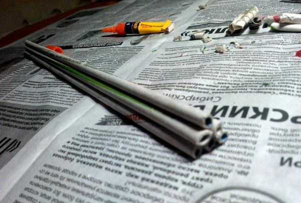 tuburi de ziare