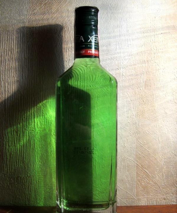 o sticlă