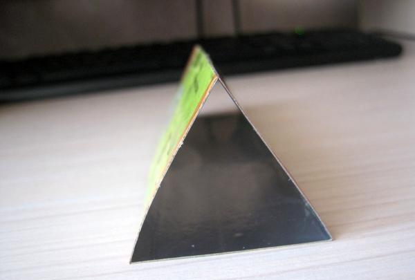 triunghi cu folie