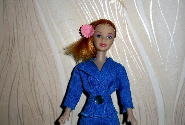 Barbie doll pantsuit