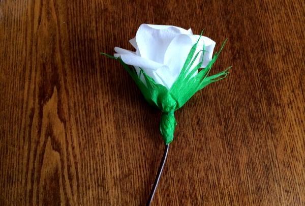 înfășurați o floare