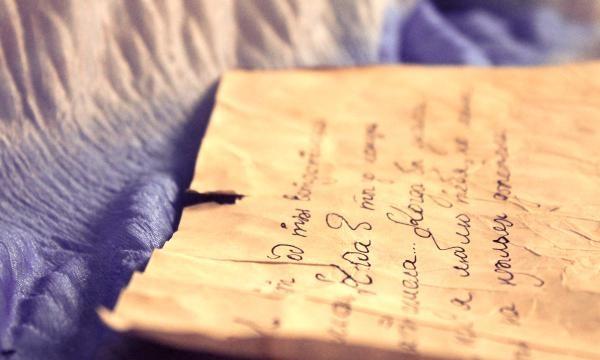 Scrisoare vintage