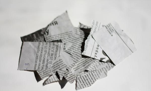 gazete artıkları