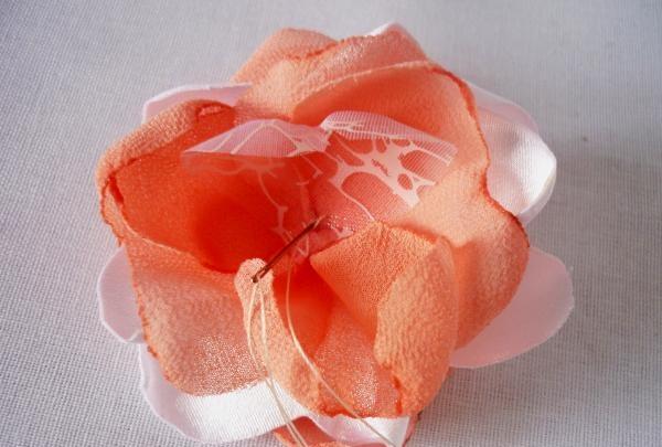 colectăm un trandafir din țesătură