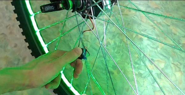 luminile roților pentru biciclete