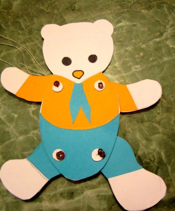 jucării de hârtie Teddy Bear