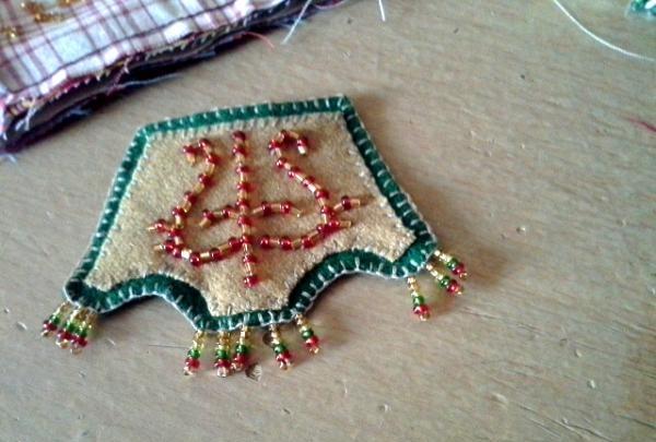 breloc în stil Yakut