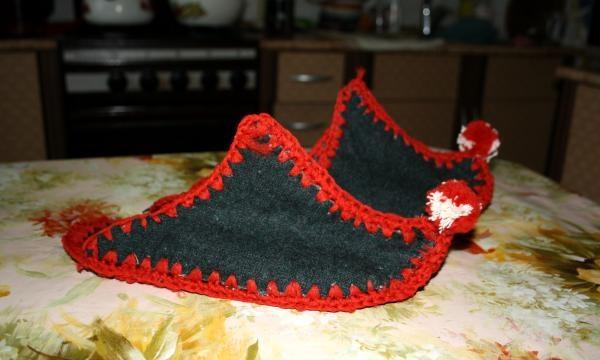 Papucii puțină făină
