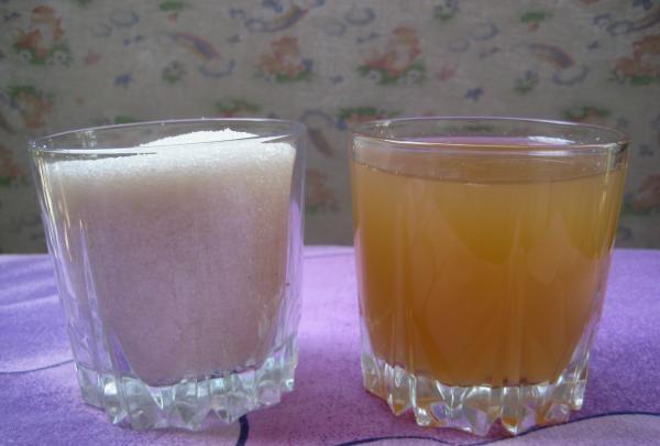 decoct de zahăr