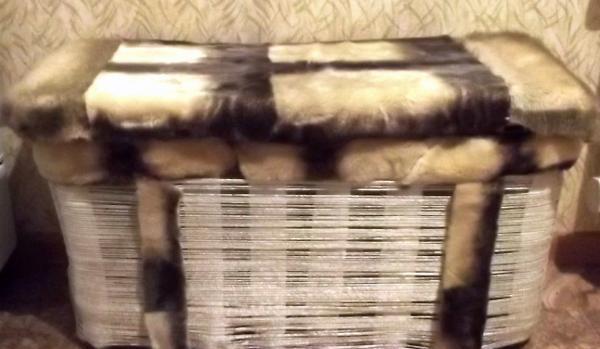 pat de căptușeală moale pentru a da