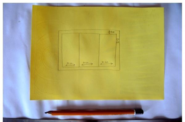 desenați un cadru