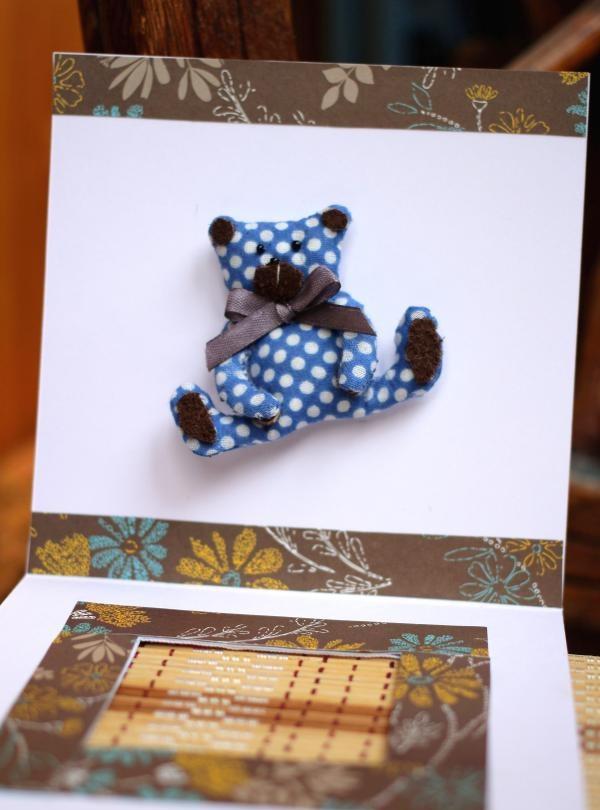 โปสการ์ดตุ๊กตาหมี