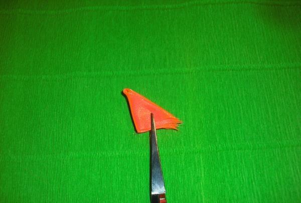 กิ๊บผีเสื้อสีส้ม