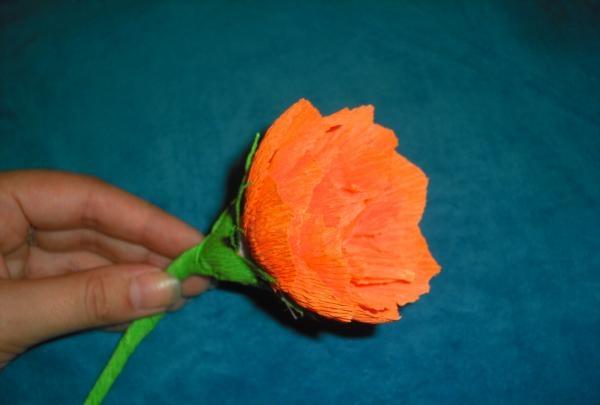 ดอกบัวกระดาษลูกฟูก