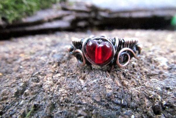 แหวนลวดทองแดง