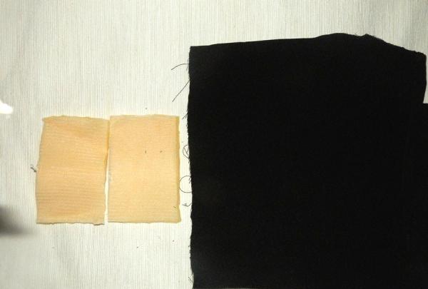 ผ้าซาตินสีดำ