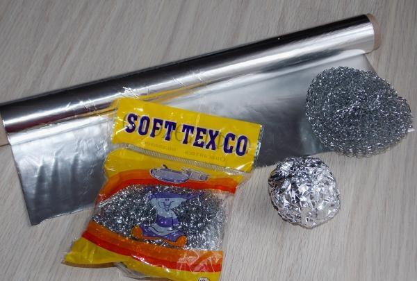Utilizarea foliei de aluminiu