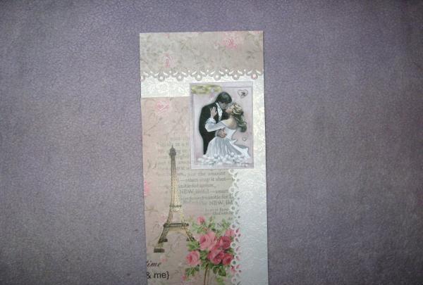 Stempel die Inschrift Hochzeitstag