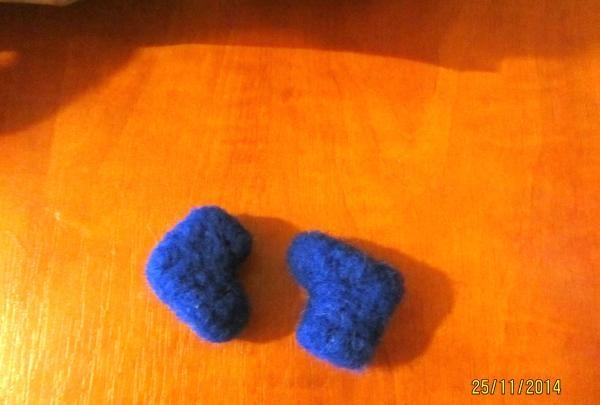 blå støvler