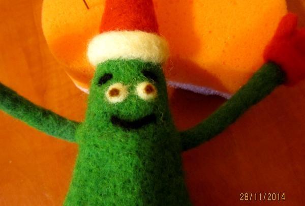 Juletræ ansigt