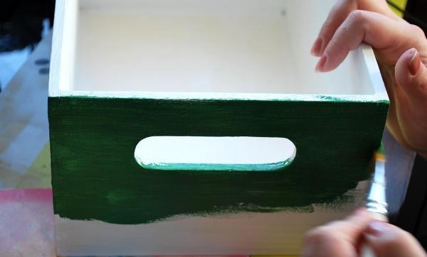 Декупаж дървена кутия