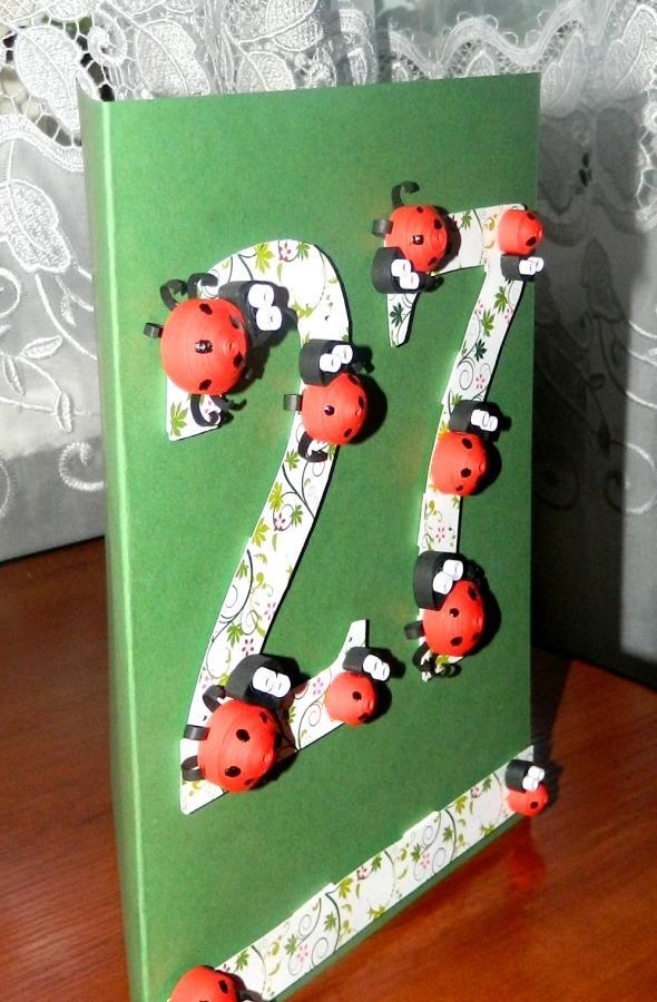 บัตร Ladybugs