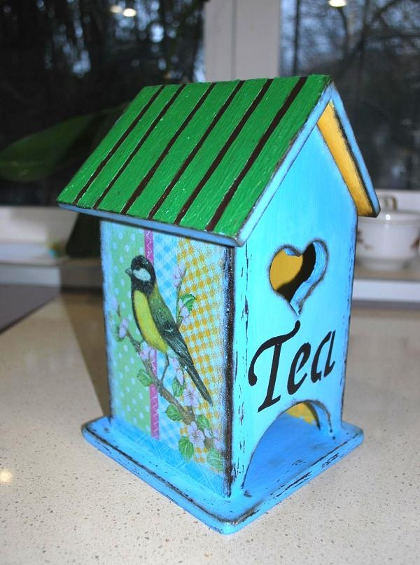 Decoupage Tea House