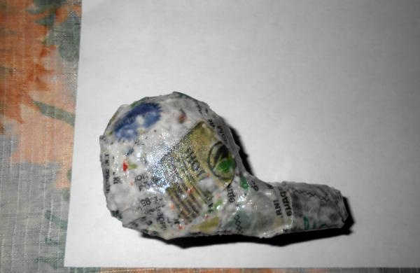 paste over a newspaper