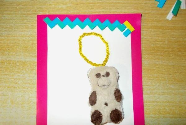 Postkort Bear Barney