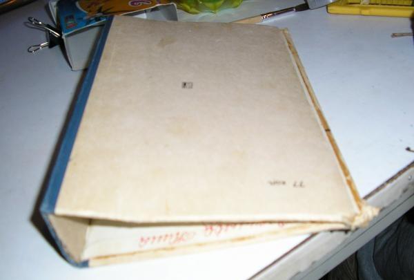 adskille en gammel bog