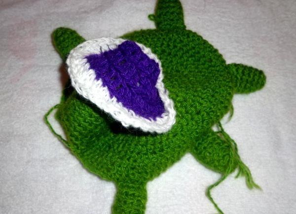 Strik legetøj skildpadde