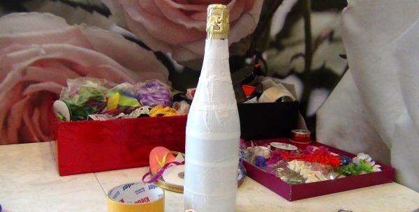 Lim flasken