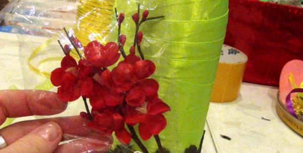 dekorative blomster