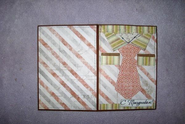 scrapbook paper on both sides