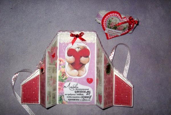 Valentine kort