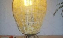 Update the lamp with a new lampshade