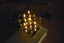 Kostka LED 3x3x3 nie może być programowana